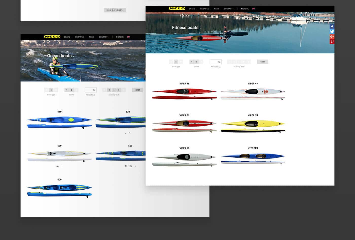 kayaks, boats, sports, branding, industry, manufacture, factory, stationary, web design, video, marketing