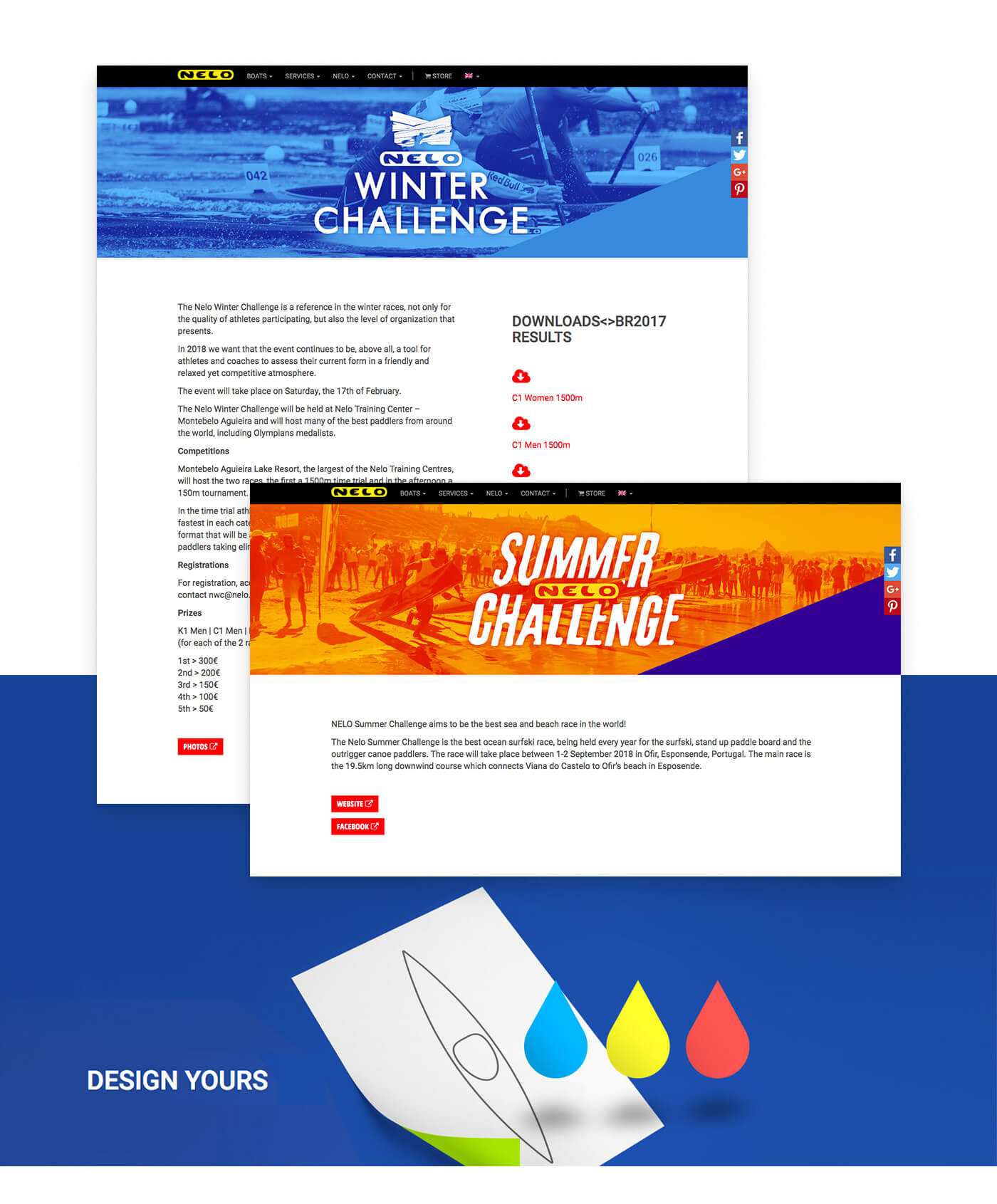 caiaques, barcos, desportos, branding, indústria, manufacture, factory, stationary, web design, video, marketing