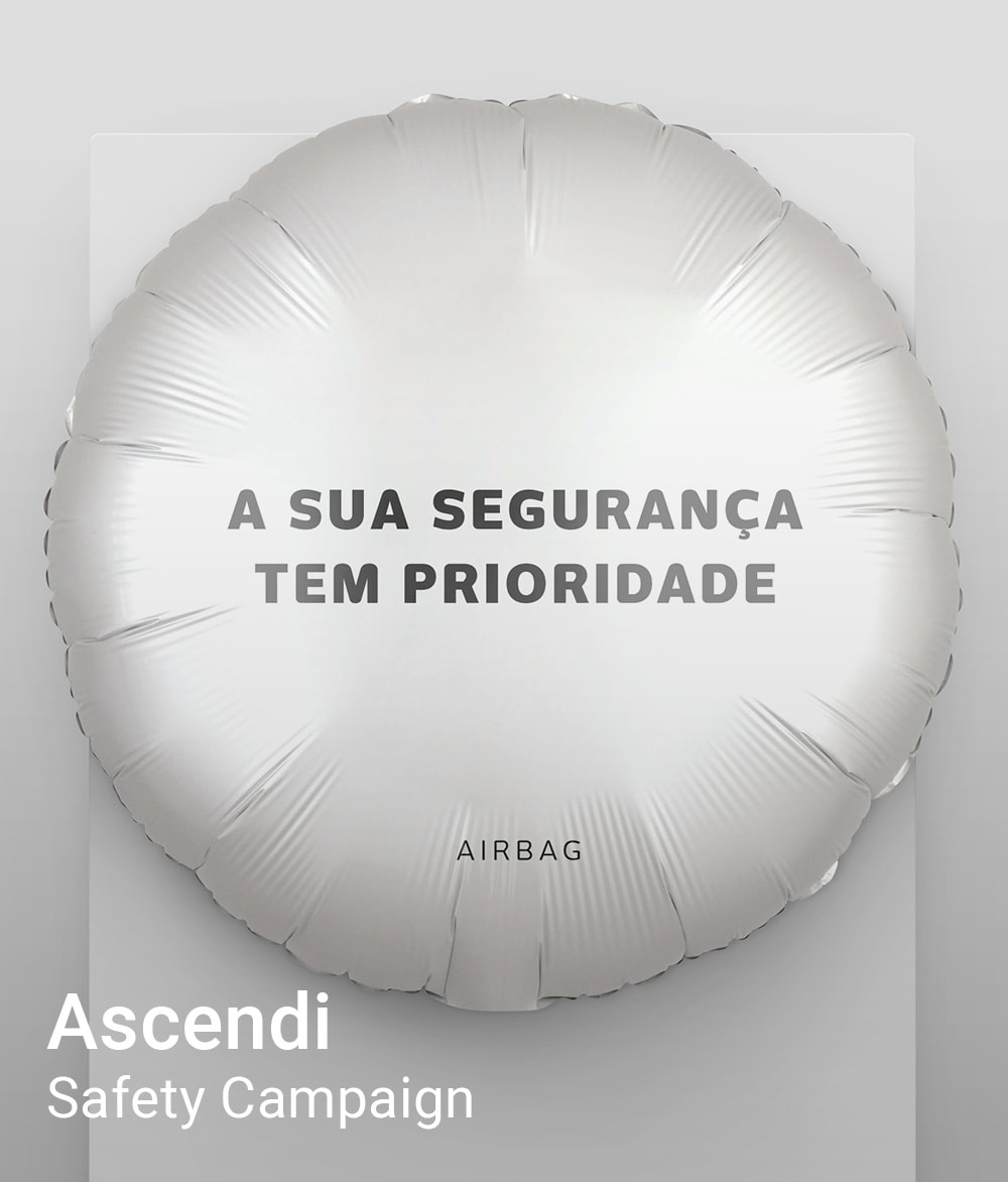 Safety Campaign, Ascendi, Comunication