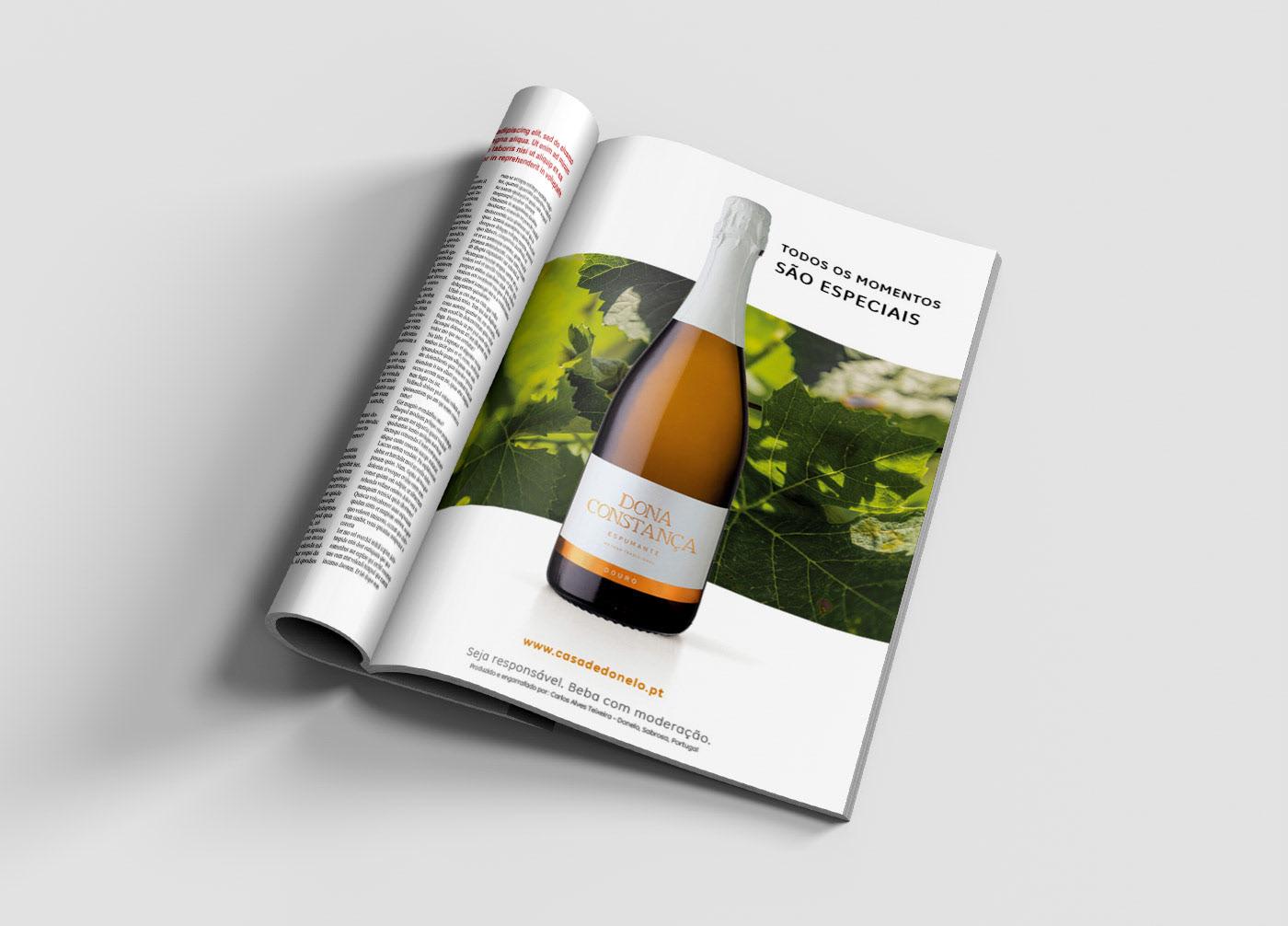 wine, casa de donelo, branding, labelling