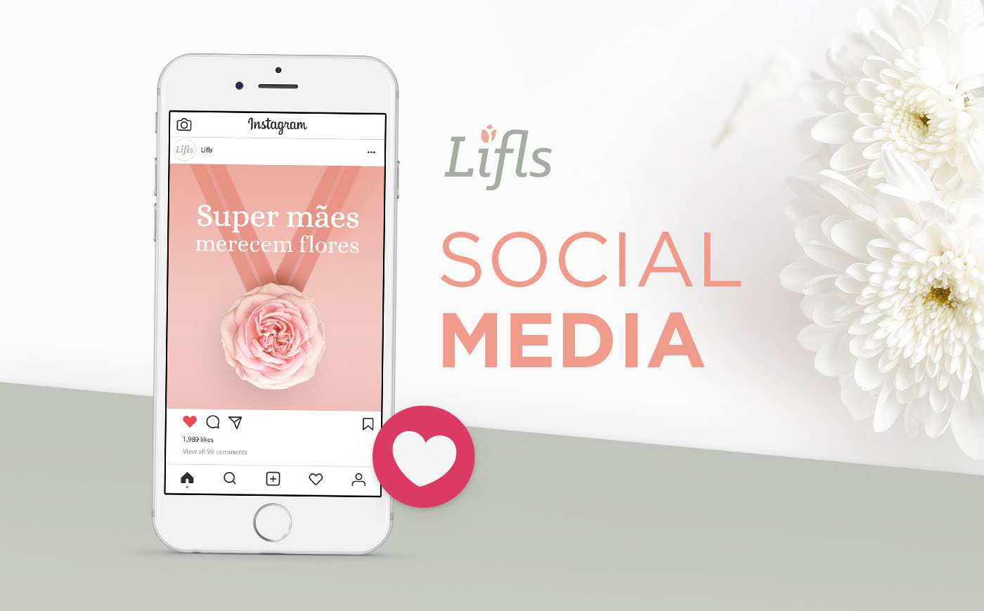 Lifls, flower shop, social media, posts