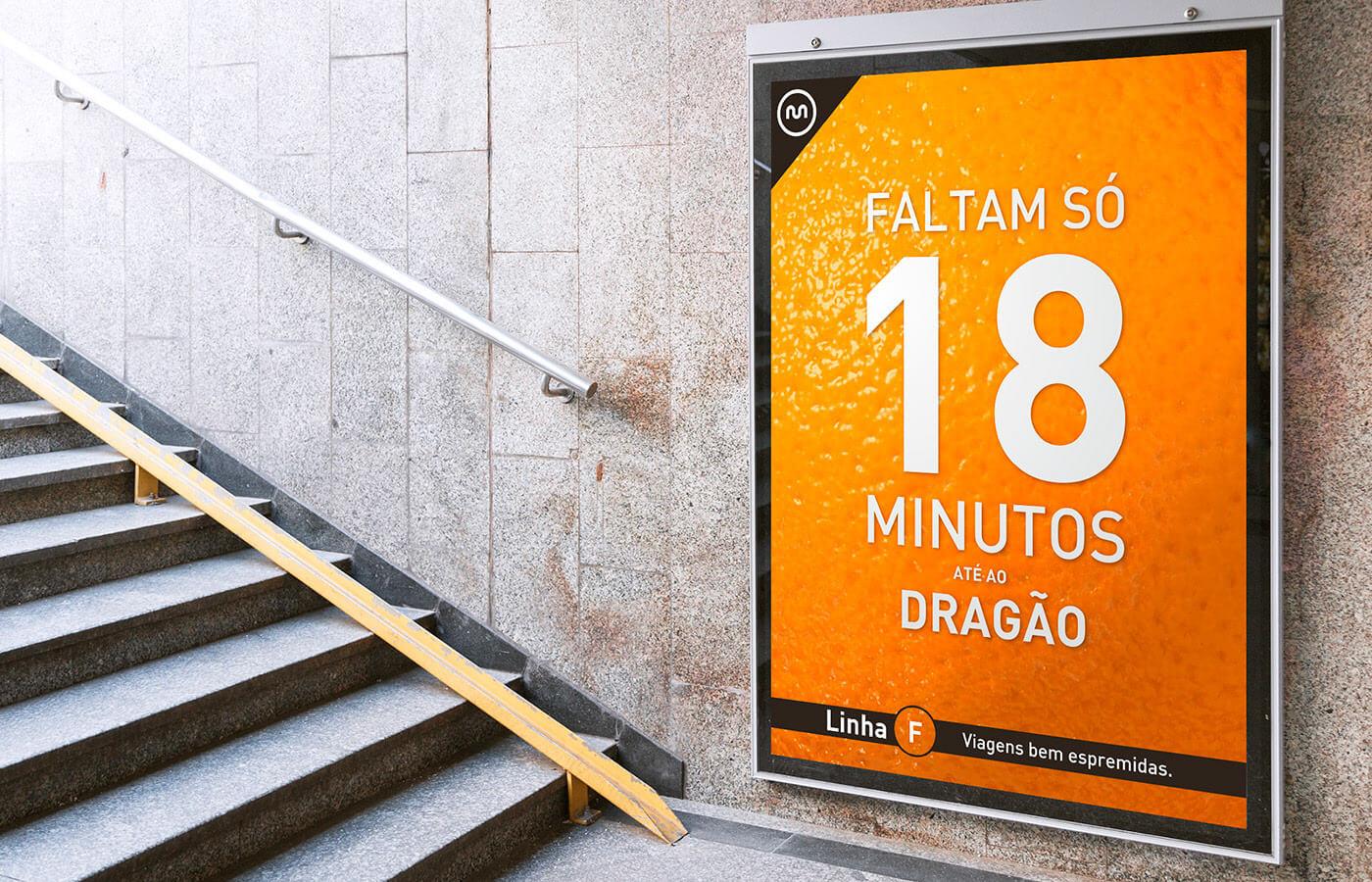 Metro do Porto, Linha Laranja, subway, orange line
