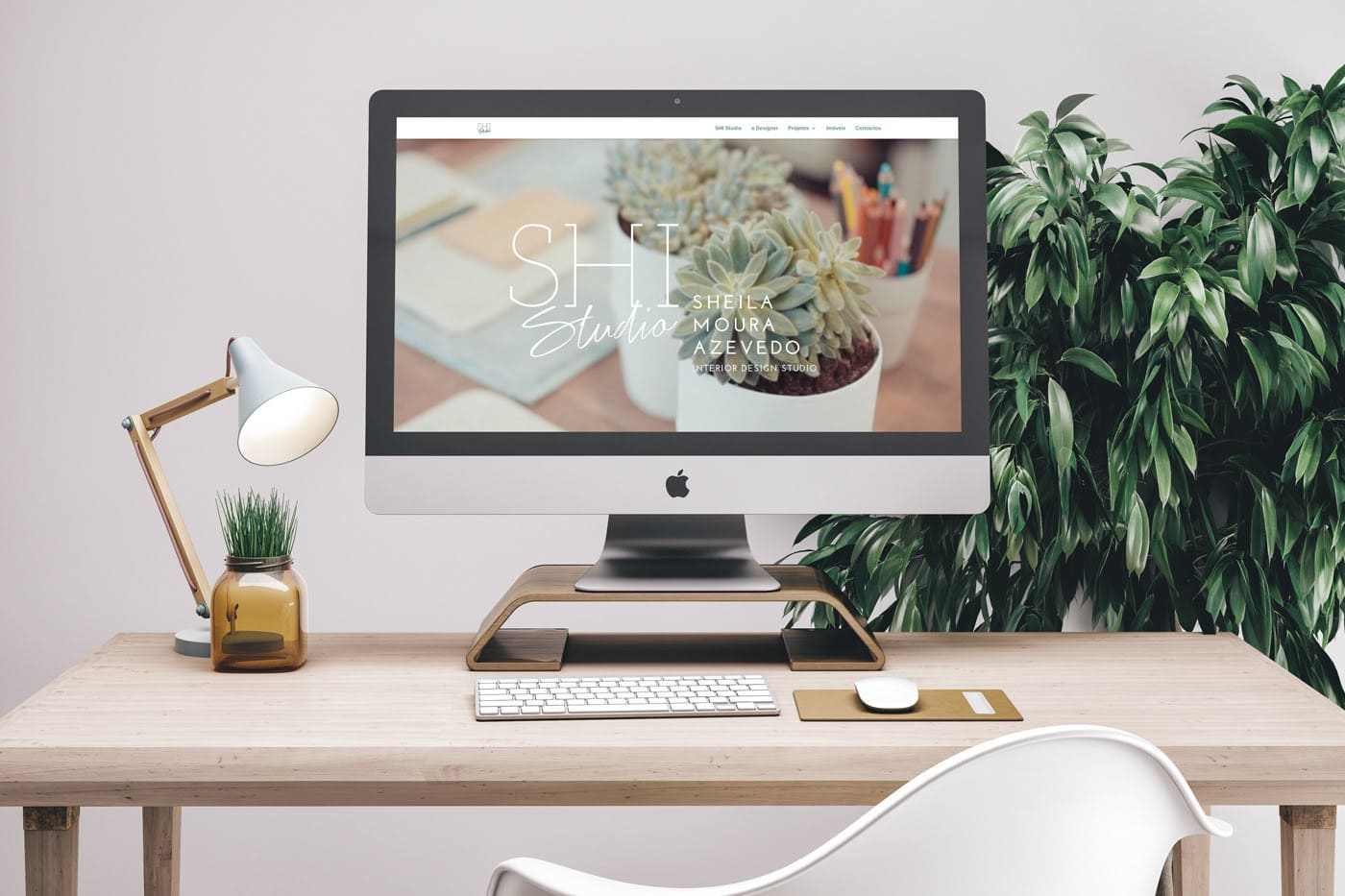 Shi Studio, Interior decorating, branding, web design, website