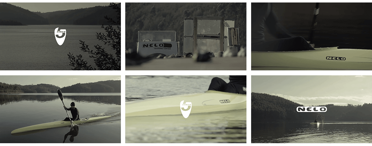 Nelo, kayaks, video